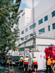 Monash Medical Centre, Clayton new MRI Scanner, an update to the fleet