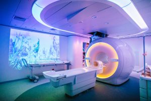 Monash Children's Hospital, Monash Imaging, MRI scanner with ambient experience