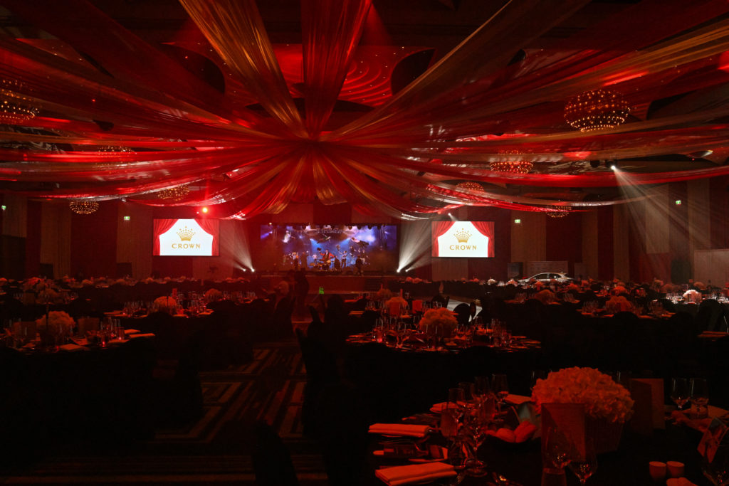 Inside the ballroom of the 2019 Dandelion Wishes Gala